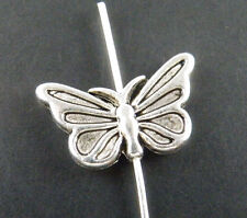 50pcs Tibetan Silver Nice Butterfly Spacers 17x10x3mm ZN14230