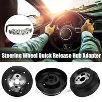 Steering Wheel Short Hub Adapter For DODGE GMC CHEVY JEEP SRT-4 SRK-170H Black