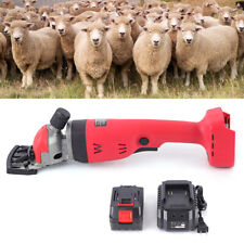 Portable Sheep Shears Electric Shearing Clippers 2 Speeds Adjustable 300W 18V
