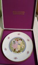 """8.25"""" Vintage Valentines Day 1976 Collectors Plate Royal Doulton Mib"""