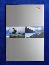 Audi A6 allroad quattro - Typ C5 - Prospekt Brochure 02.2000