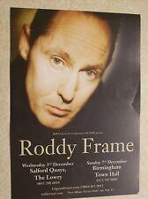Roddy Frame Salford/Birmingham 2014 Handbill/Leaflet