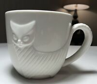 Rare Jonathan Adler For Barnes And Noble 3D Cat Mug HTF Collectible Excellent!