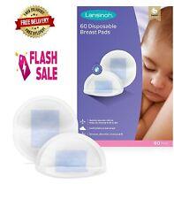 Lansinoh Breast Pads Disposable Nursing Brestmilk Absorvent Ultra Tin 60 Pads