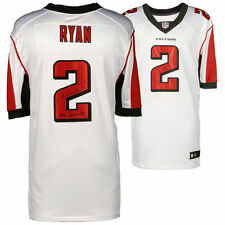 "MATT RYAN Autographed ""2016 NFL MVP"" Authentic Falcons White Jersey FANATICS"