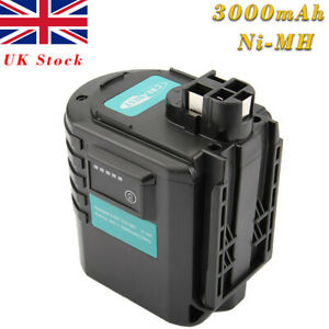 24V 3000mAh Ni-MH Battery For Bosch GBH24VRE BAT019 BAT020 BAT021 0611260539