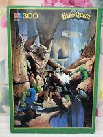 HeroQuest Dwarven Pass 300 Piece Vintage 1989 Jigsaw Puzzle Complete (MB)