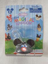 RARE Walt Disney World Mini Magical Kingdom MICKEY MOUSE EAR HAT Keychain Figure