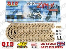 DID Gold Super X Ring Chain 525ZVMXGG 110 fits Honda CB750 M NAS Night Hawk