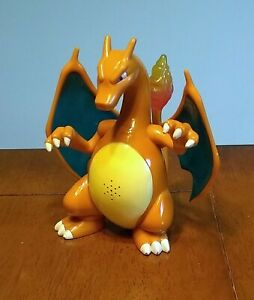 "2004 Hasbro Pokemon Charizard Generation 1 Roaring Light Up 7"" Action Figure Toy"