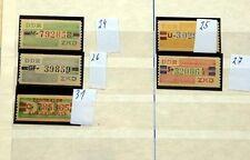 Gestempelte Dienstmarken aus der DDR als Posten & Lots