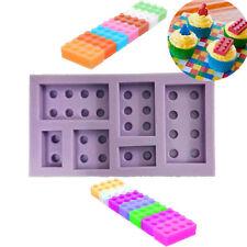 Bricks Lego Silicone Mould for Cake & Cupcake Decorating Free Postage