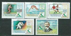 Tagikistan - Posta Yvert 81/5 MNH Olimpiadi Di Atlanta