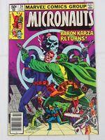 Micronauts #26 1981 Marvel Comics