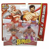 WWE Rumblers Tensai and Justin Gabriel 2 Figure Pack