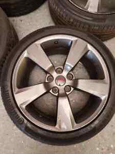 """Genuine Subaru Impreza 330 s STI 18"""" Alloy wheels 5x114.3 STI GDA GDB GRB"""