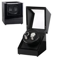Uhrenbeweger Uhrenbox Schwarz Uhrenkasten Automatikuhr Holz Uhrendreher Carbon