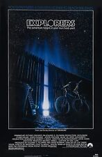 EXPLORERS (1985) ORIGINAL MOVIE POSTER  -  ROLLED