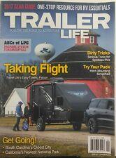 Trailer Life April 2017 Taking Flight Travel Lite Towing Falcon FREE SHIPPING sb