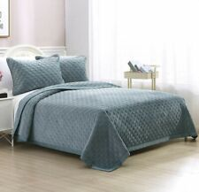 NEW Berkshire Life Luxury Velvet 3-piece Quilt Set Queen