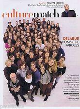 COUPURE DE PRESSE CLIPPING 2009 Jean-Luc Delarue  (3 pages)