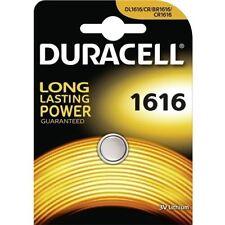 1x Button Cell Duracell Cr1616 Battery Lithium 3v