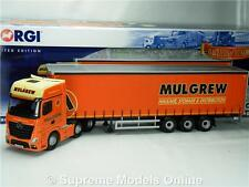 CORGI MERCEDES ACTROS MULGREW CC15806 CURTAIN 1:50 MODEL MODERN TRUCK K8Q