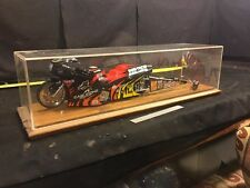 1:9 SCALE 2000 VANCE &  HINES EAGLE ONE  NHRA PRO STOCK DRAG BIKE & mini case