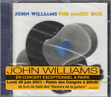 CD 15T JOHN WILLIAMS THE MAGIC BOX 2001 NEUF SCELLE WITH FRENCH STICKER