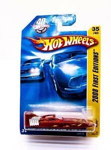 Hot Wheels 2008 First Editions 35/40 H2GO 035/172 Mint BNIB L9950