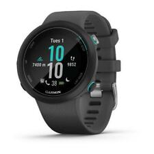 Smartwatch Garmin Swim 2 Silicone Black Pool Swolf 42mm Gps 010-02247-10