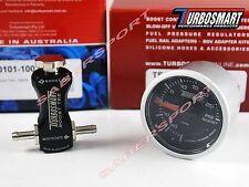 Turbosmart Boost-Tee (Black) Manual Turbo Boost Controller + 52mm 0-30psi Gauge