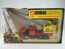 Corgi Major 1154 Mack Priestman Crane Truck