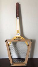Vtg Wilson Chris Evert Miss Chris Tennis Wood Racquet 4 3/8 Grip