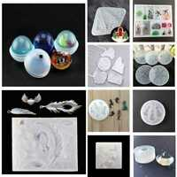 DIY Silicone Gel Pendant Mold Making Jewelry For Resin Fast