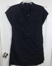 Madewell Navy Blue Cotton Dress Sz Sm