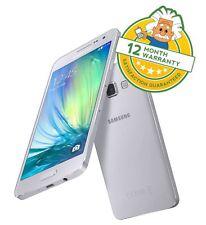 Samsung Galaxy A3 A300FU Plat Silver 16 GB (Unlocked) Android Smartphone Grade B