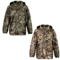 Kids Camouflage Waterproof Outdoor Hunting Fishing Camo Jacket