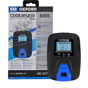 Oxford Oximiser 900 Motorcycle 888 Anniversary Battery Charger - FREE POST