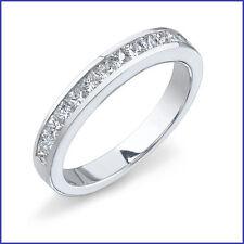 Gregorio: 13 Princess Diamonds 0.75ctw Diamond Wedding Band G VS 18K White Gold