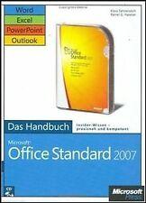 Microsoft Office Standard 2007 - Das Handbuch: Word, Exc... | Buch | Zustand gut
