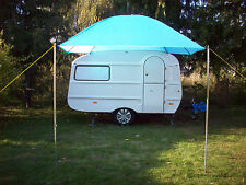 Kuppel Sonnensegel,Vorzelt für Wohnwagen VW Bus Bulli Eriba Qek Aero Trike IFA