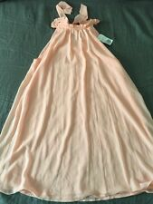 Forever 21 baby pink color summer dress  skirt with bow size M