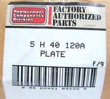 Carrier 5h40 120a Valve Plate Assembly New Genuine Oem Compressor Parts