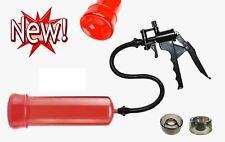 Vakuum Pumpe Penispumpe Potenzpumpe 12te FirePumpSE RED mit 1 Silikonmanschette