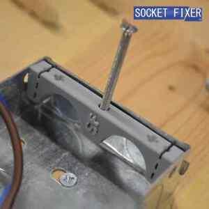 Socket Fixer - Back Box Repair - Lug Repair - Metal Back Box - CLIPS * 2 PACK