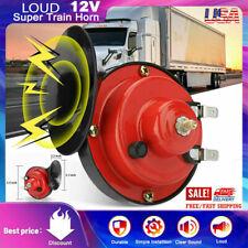 12v Super Loud Train Horn For Trucks Suv Car Boat Motorcycles Vehicle Universal