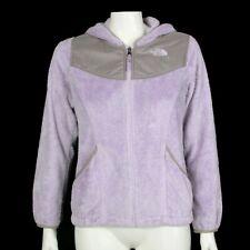 THE NORTH FACE Pretty Purple Fleece Full Zip Hoody Jacket Girls Large - 067