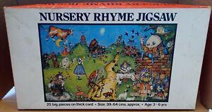 Vintage Orchard Toys Nursery Rhyme Jigsaw