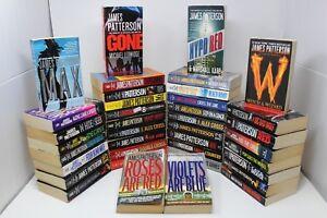 Lot of 10 James Patterson Detective Cross Womens Murder Etc. Paperback Books MIX